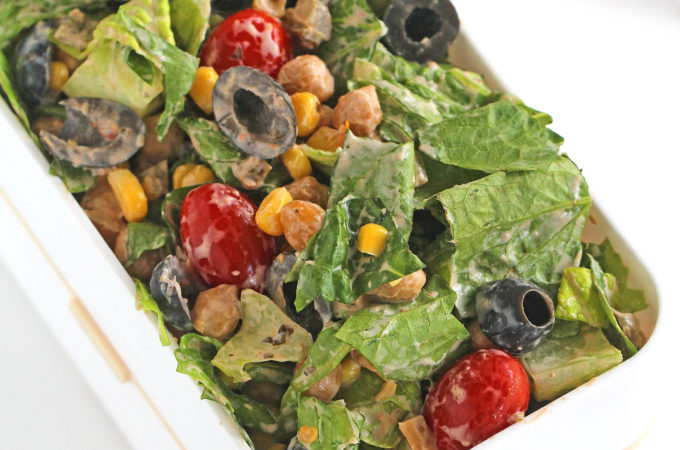 Chickpea Tex-Mex Salad