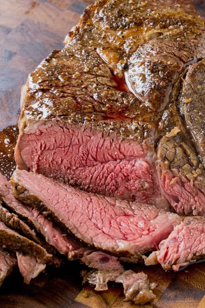 Slow Cooker Roast Beef That You Can Slice Into Tender Slices Cooked To A Perfect Medium Temperature Enjoy For Dinner Or Sliced Thinly In Sandwiches