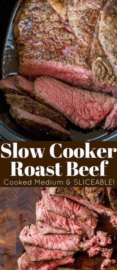 Slow Cooker Roast Beef Sliceable Dinner Then Dessert