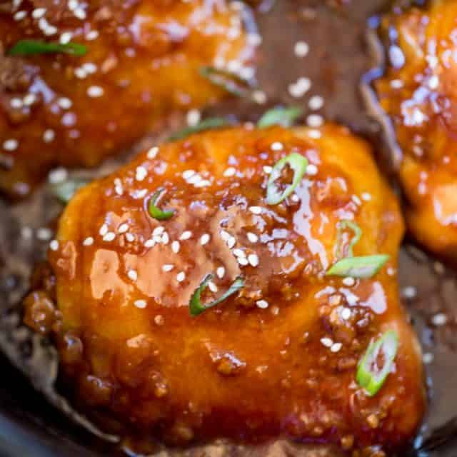Slow Cooker Teriyaki Chicken made with a handful of ingredients has amazing flavors of ginger, garlic that will make your kitchen smell amazing.