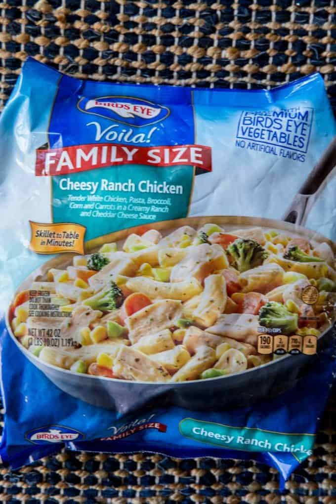Bird's Eye Voila Easy Cheesy Ranch Chicken is a delicious option for a quick weeknight meal.