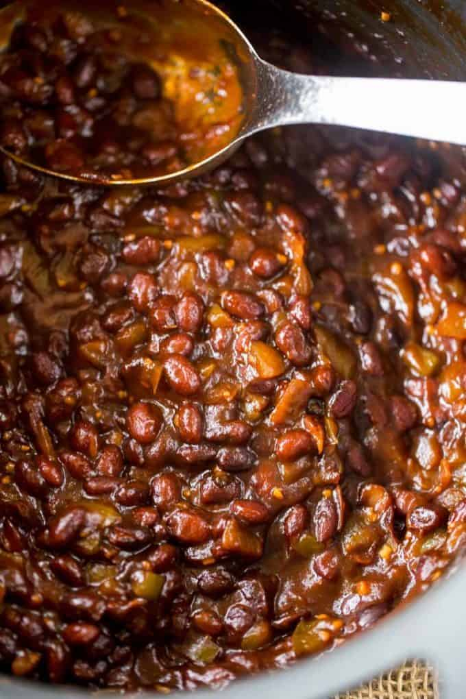 We loved these El Pollo Loco BBQ Black Beans and make them all the time!