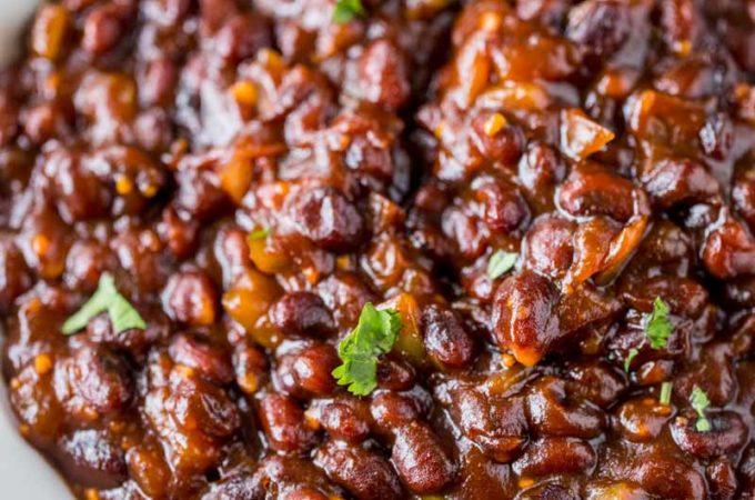 El Pollo Loco BBQ Black Beans (Copycat)