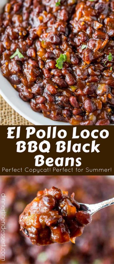 We went crazy for these El Pollo Loco BBQ Black Beans!