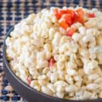 Hawaiian Macaroni Salad is the perfect side dish to your favorite summer grilled foods or teriyaki recipes.