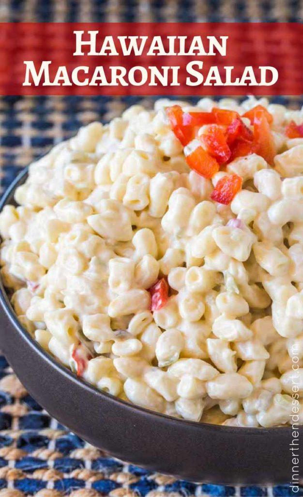 This Hawaiian Macaroni Salad tastes just like L&L BBQ! Perfect for summer!