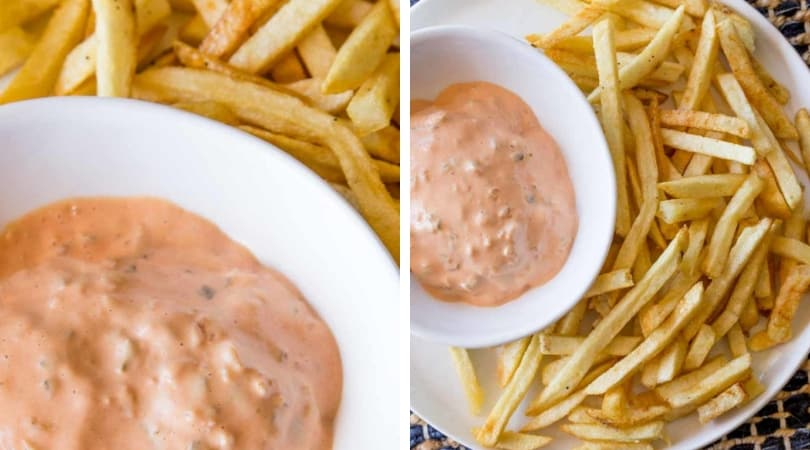 In-N-Out Burger Spread Dipping Sauce (Copycat) - Dinner, then Dessert