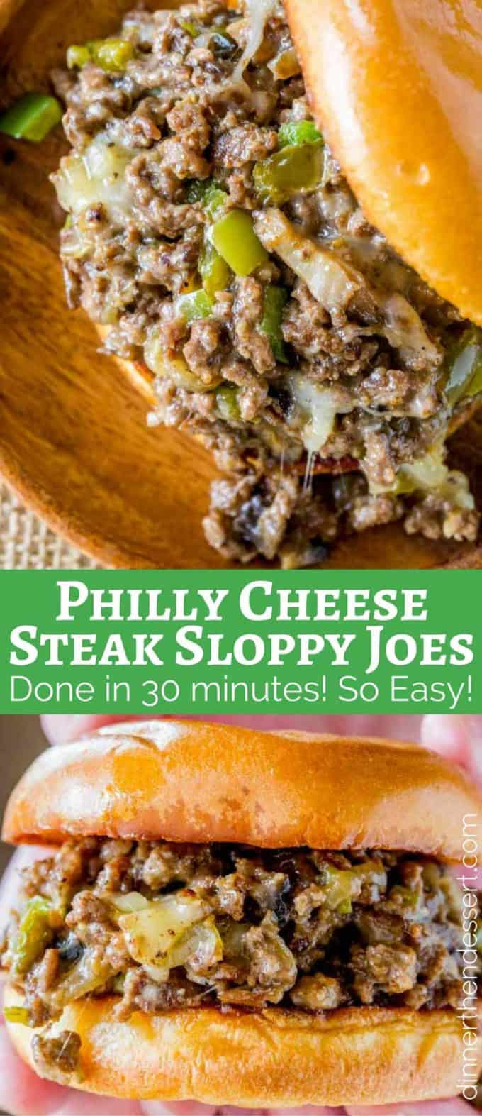 We make these Philly Cheese Steak Sloppy Joes ALL THE TIME!
