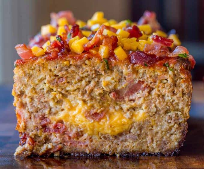 We LOVED this Bacon Cheeseburger Meatloaf so much we made it again the next night!