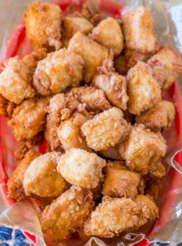 We LOVE these Chick-fil-A nuggets and they're so easy to make!