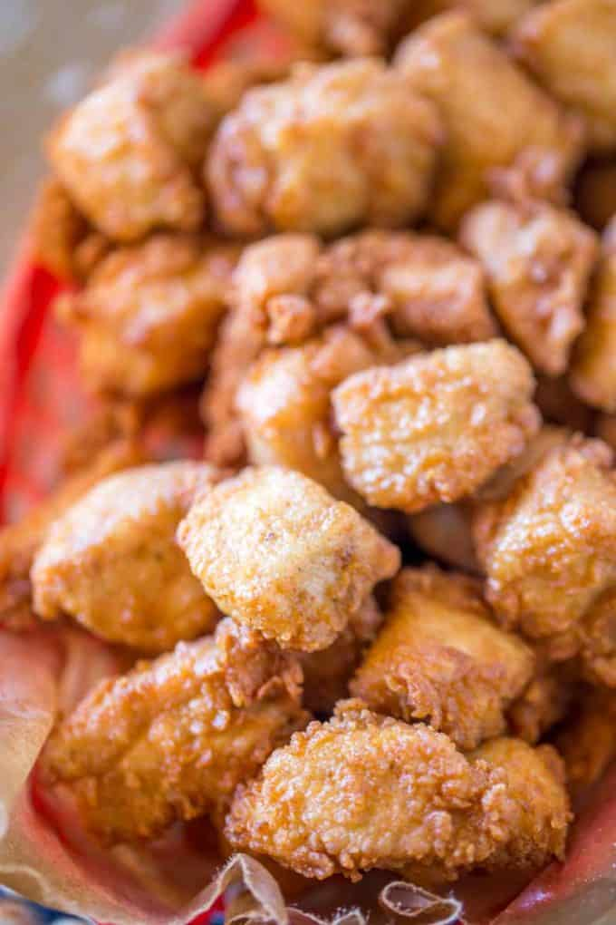 The best and easiest copycat for Chick-fil-A Nuggets.