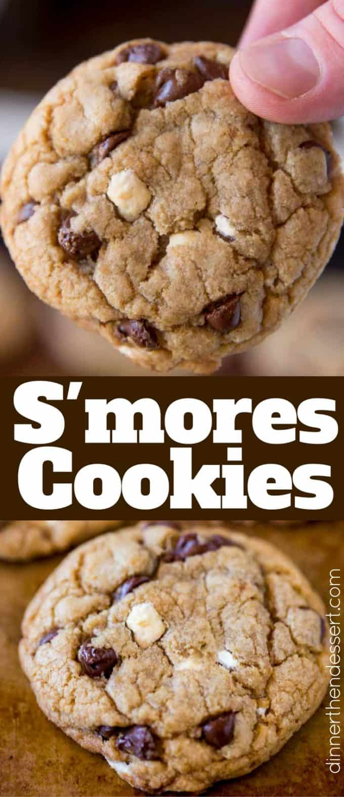 S'mores Cookies are a huge hit in the summer and for your Christmas Cookie swap!