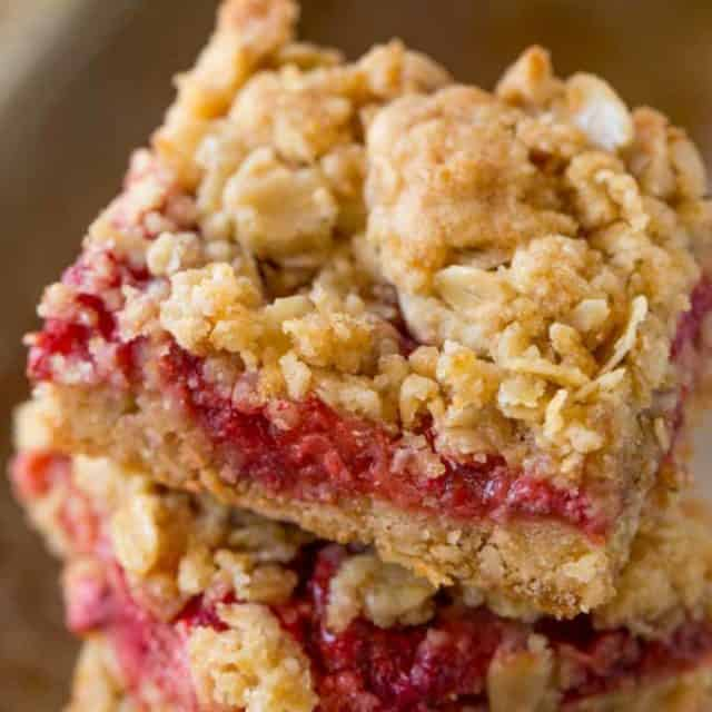 You'll love these Fresh Strawberry Crumb Bars as much as we do, they're SO EASY to make!