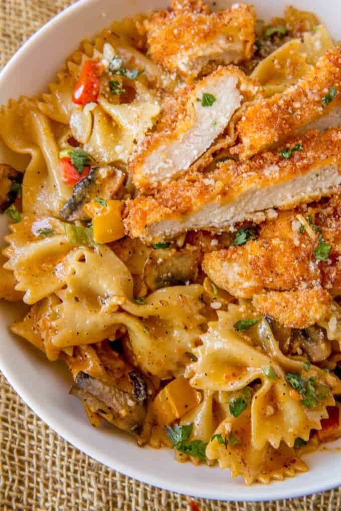 Cheesecake Factory Louisiana Chicken Pasta Copycat Dinner Then Dessert
