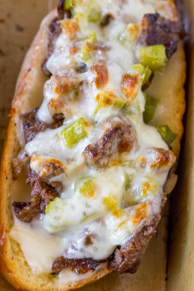 Oven Baked Philly Cheesesteak Sandwiches - Dinner, then ...