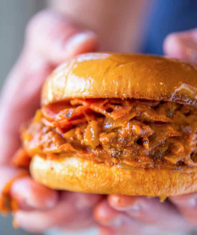 Easy Pizza Sloppy Joe