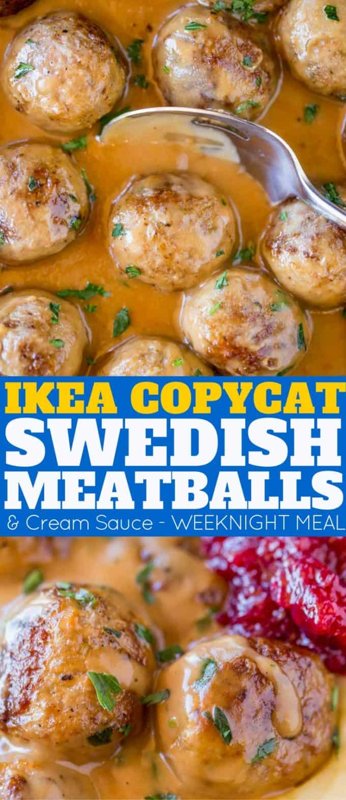 We love these Swedish Meatballs as much as the Ikea Meatballs they're a copycat of!