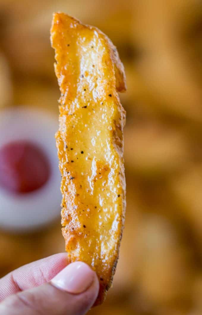 KFC Potato Wedges (Copycat) - Dinner, then Dessert