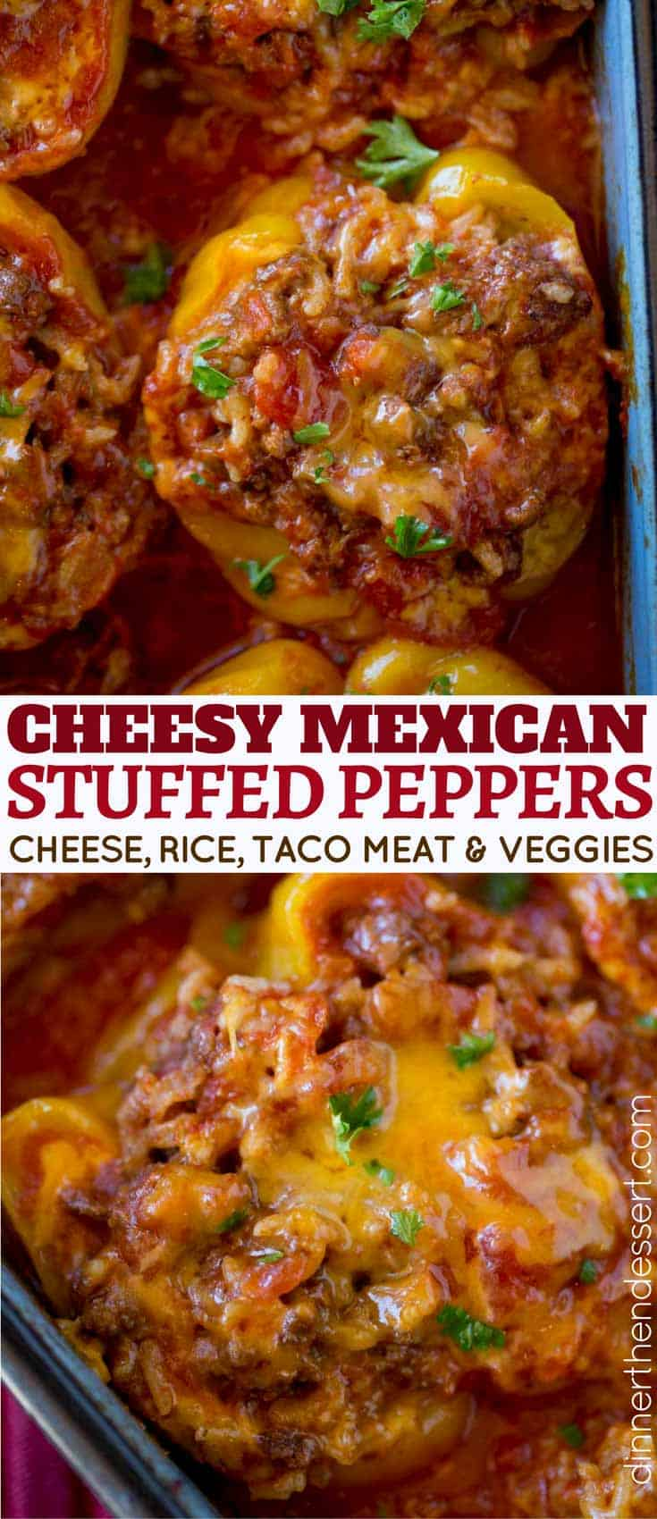 You'll love these Cheesy Taco Stuffed Peppers!
