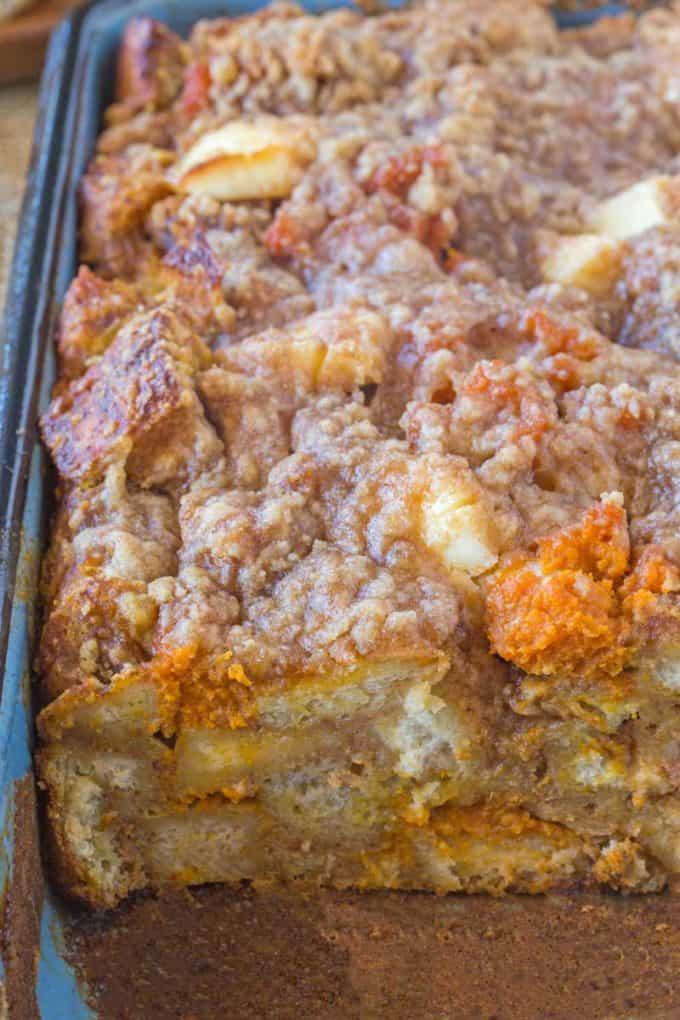 Pumpkin French Toast Bake Dinner Then Dessert
