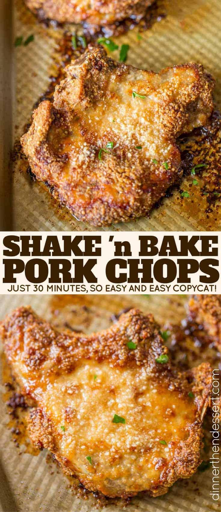 shake and bake method instructions