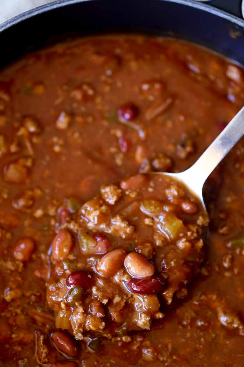 The ultimate chili, JUST like Wendy's chili and perfect for your gameday crowd!