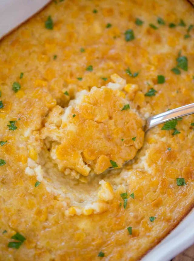 Corn Pudding is a nostalgic side dish your family has made for years with just a handful of ingredients, you'll LOVE this buttery, creamy, easy side dish for the holidays!