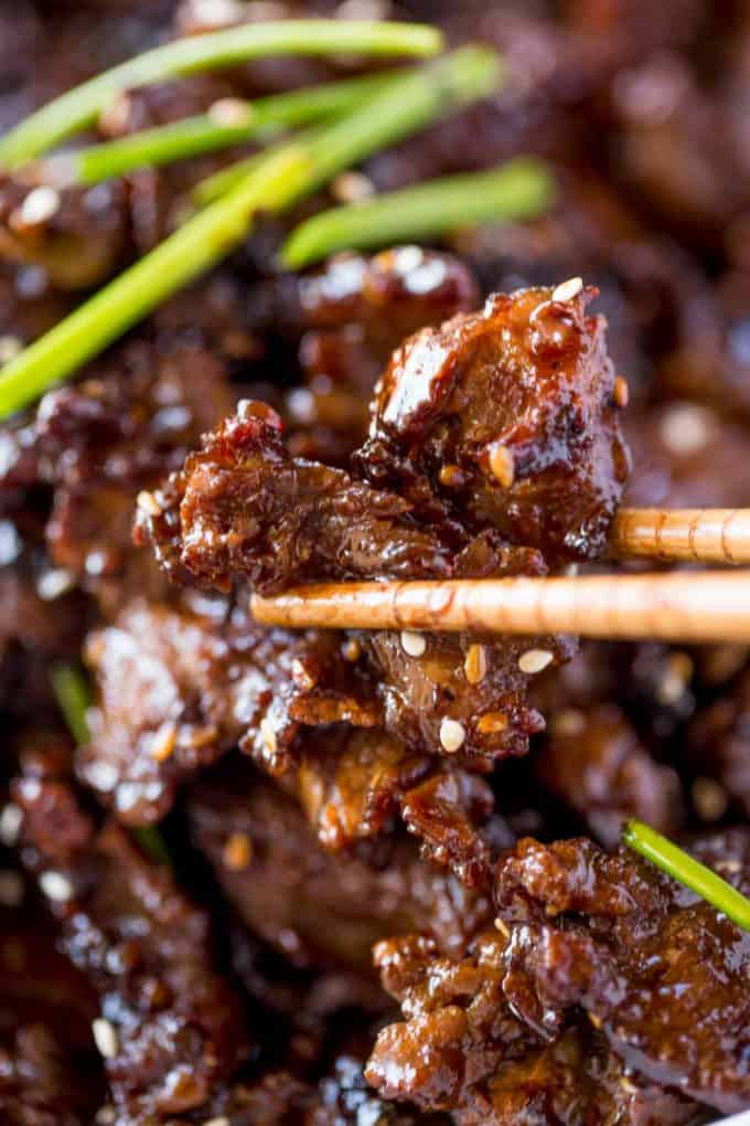 Quick and Easy Chinese Crispy Orange Beef