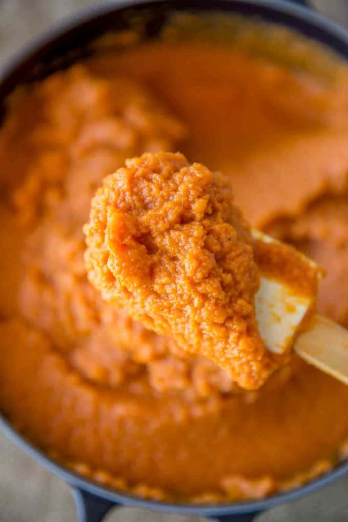 How to boil or steam or bake pumpkins to make puree.