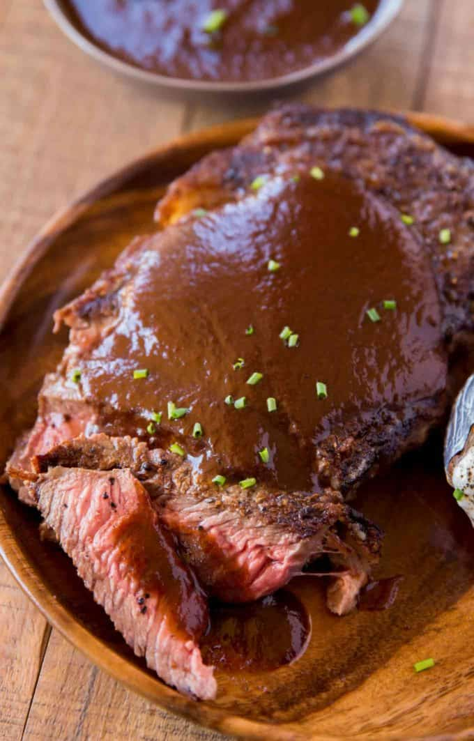 The PERFECT A1 Steak Sauce Copycat made at home for a fraction of the cost but with all the flavor!