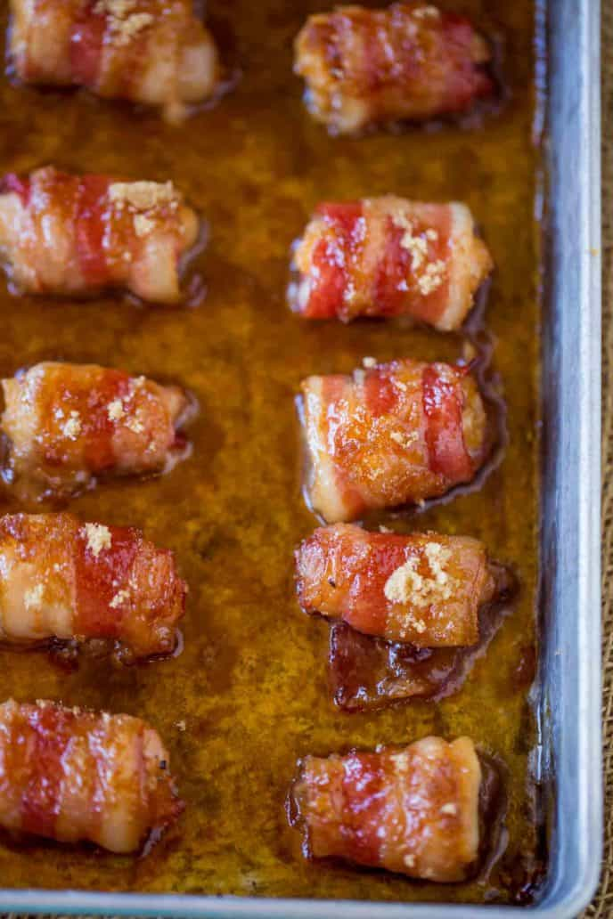 The easiest and most delicious bacon bites you'll have this holiday season!