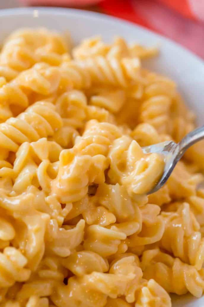Boston Market mac and cheese with American, blue and cheddar cheeses is the best mac and cheese ever!