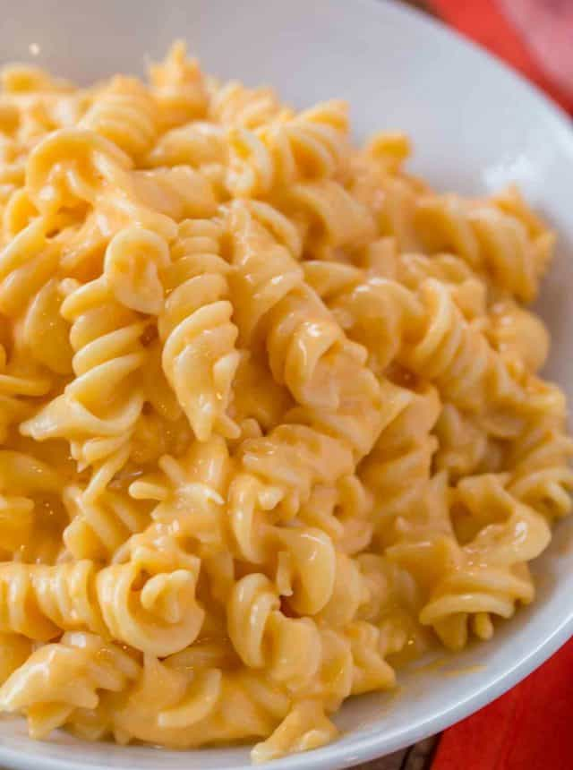 Boston Market Mac and Cheese, made with three cheeses is super creamy and easy to make and the perfect copycat!