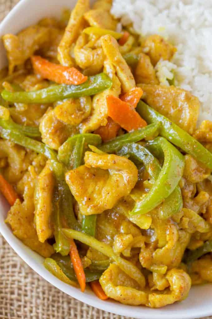 Chinese Curry Chicken