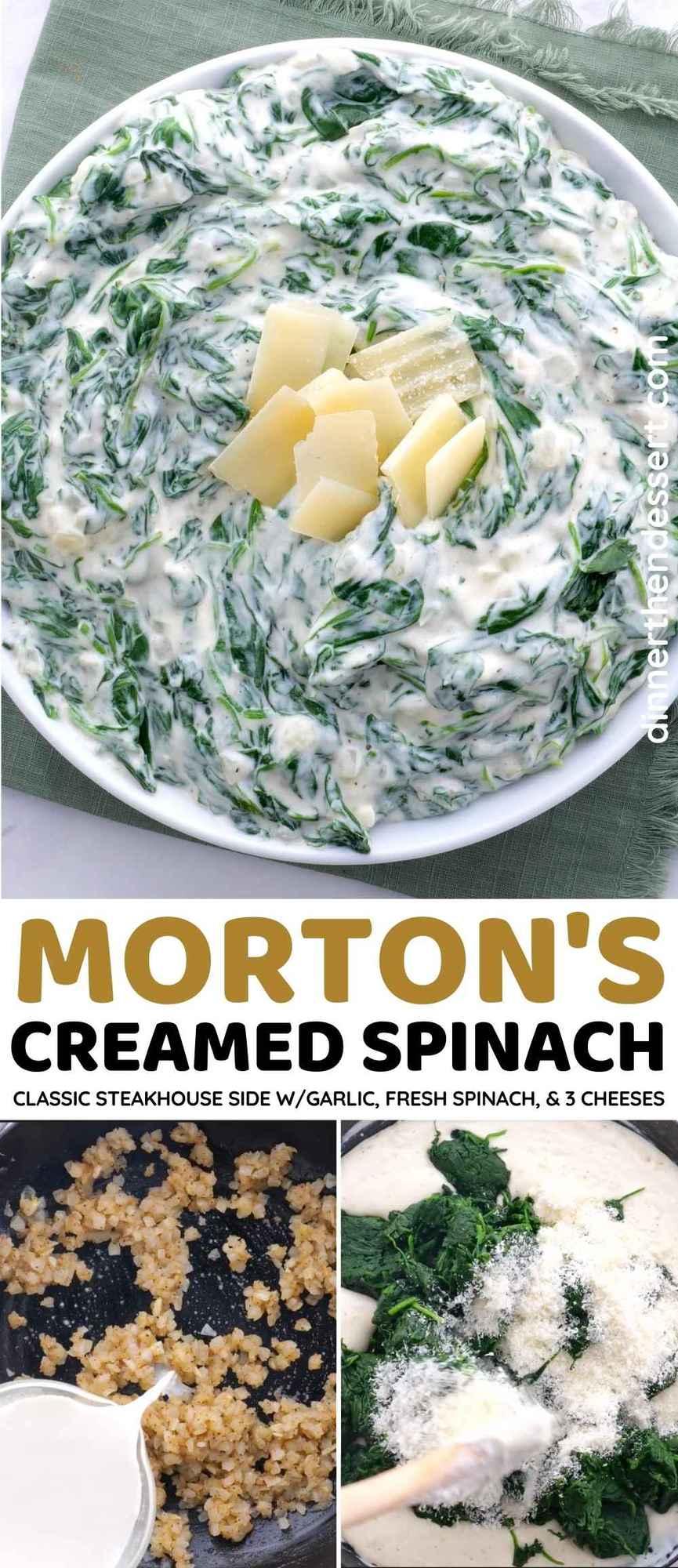 Morton's Steakhouse Creamed Spinach Collag