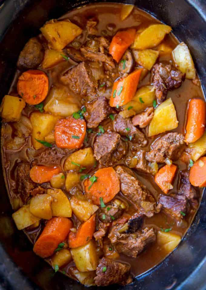 The best and easiest Guinness Beef Stew with buttery Yukon Potatoes and tender carrots.