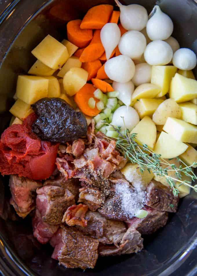 The best Crock Pot Guinness Beef Stew Ingredients.