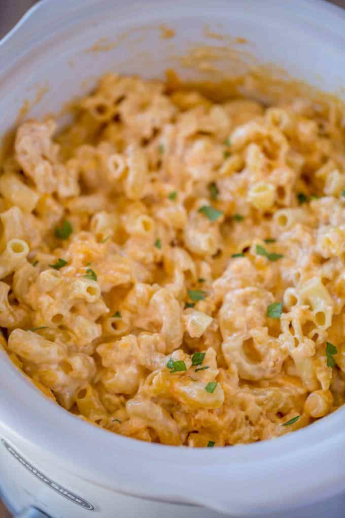 shrimp mac and cheese crock pot