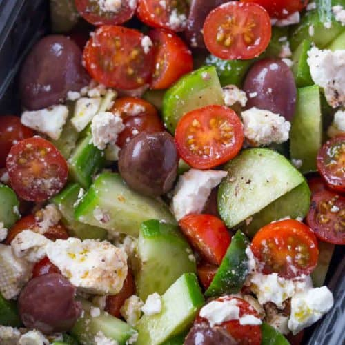 Recipe Greek Salad Dressing Red Wine Vinegar