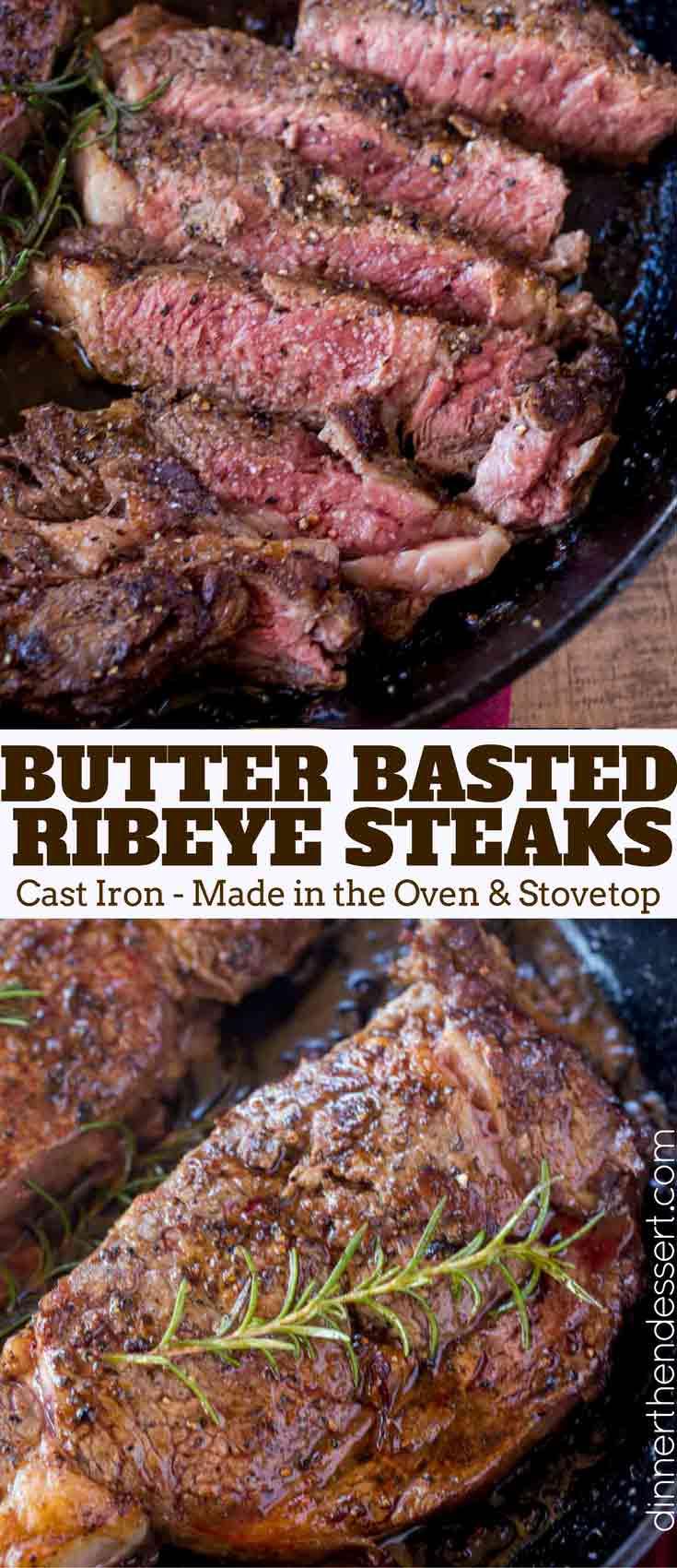Perfect Easy Ribeye Steak Dinner Then Dessert