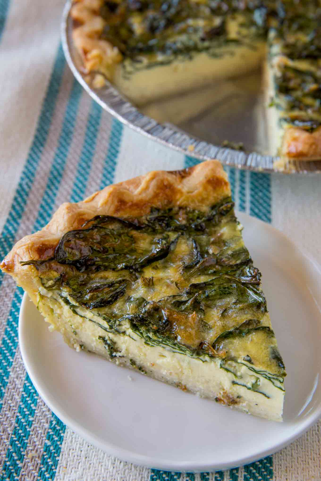 Easy Spinach Quiche Quiche Florentine Dinner Then Dessert