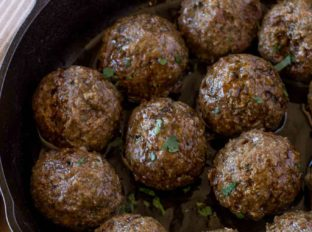 Beef Greek Meatballs (Kofta Kebab)