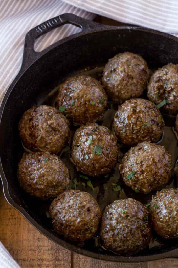 Beef Greek Meatballs (Kofta Kebab)