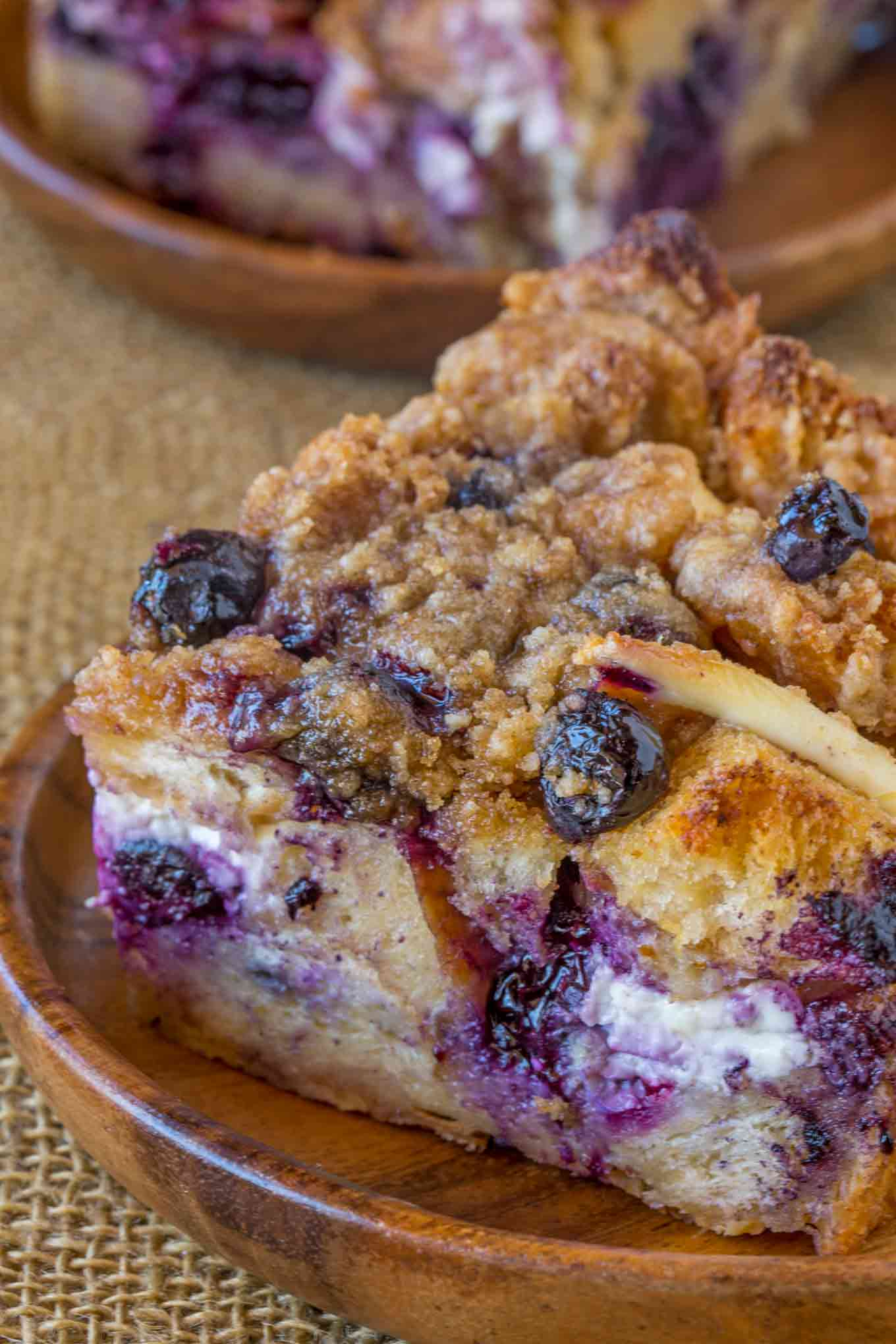 Blueberry Cream Cheese French Toast Bake - Dinner, then ...