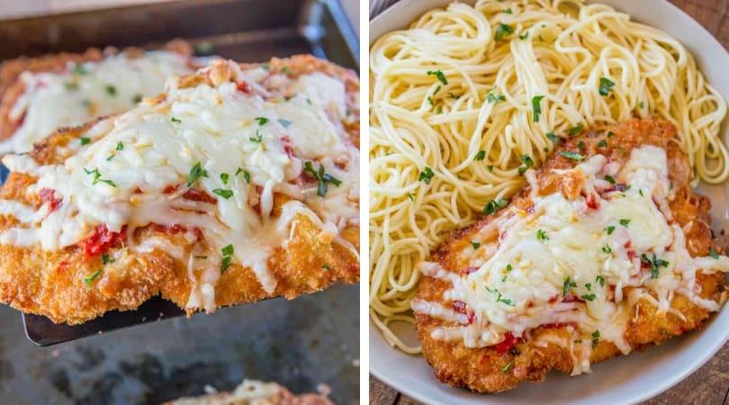 The Best Chicken Parmesan Dinner Then Dessert