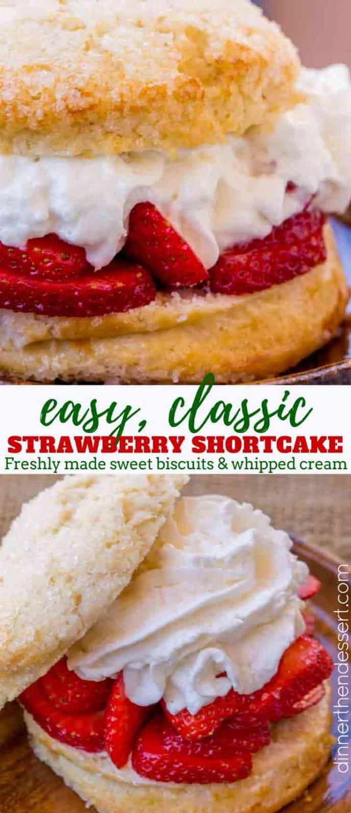 strawberry shortcake collage