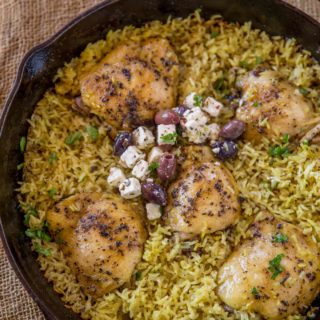 One pot greek mediterranean chicken and rice dinner then dessert forumfinder Images