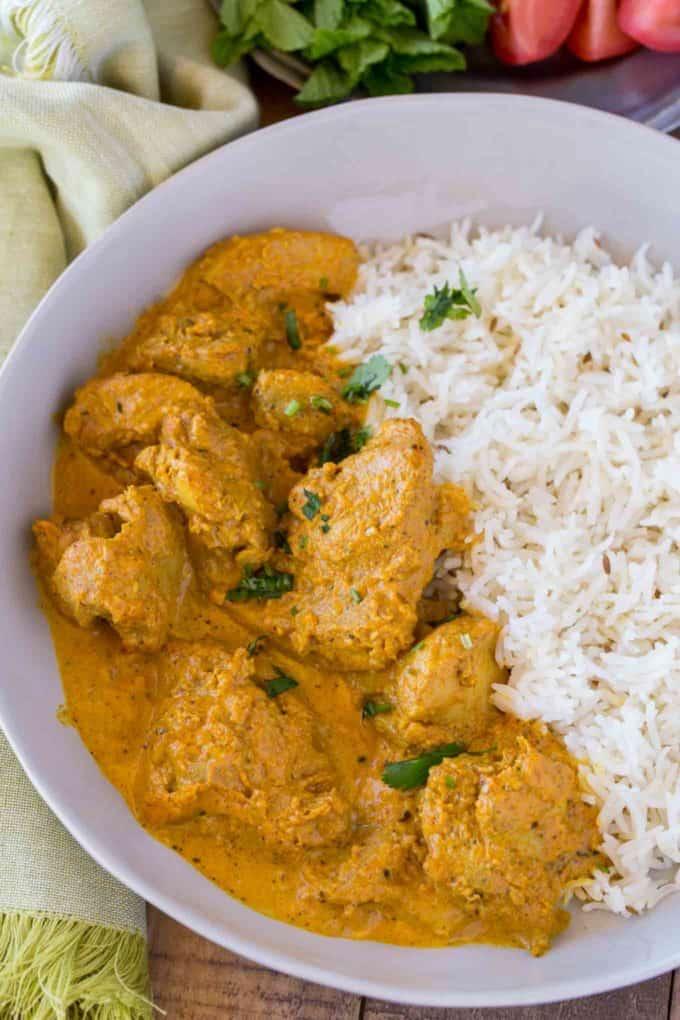 Indian chicken korma dinner then dessert indian chicken korma recipe forumfinder Choice Image