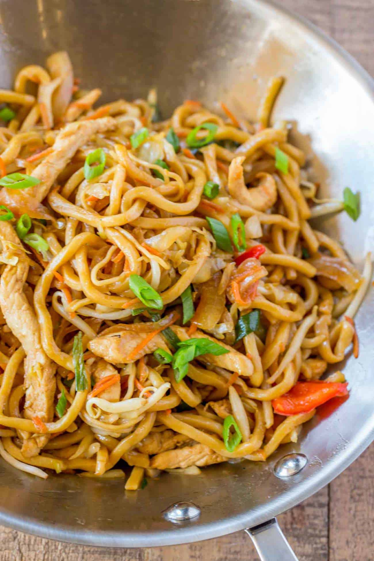 Chicken lo mein dinner then dessert chicken lo mein forumfinder Images