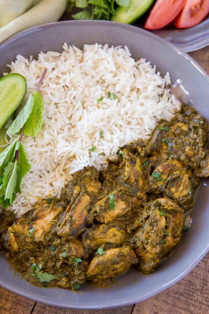 Indian Saag Chicken Recipe